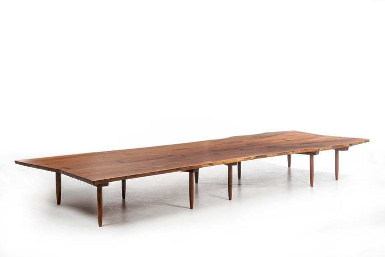 American Mira Nakashima Monumental Bench For Sale