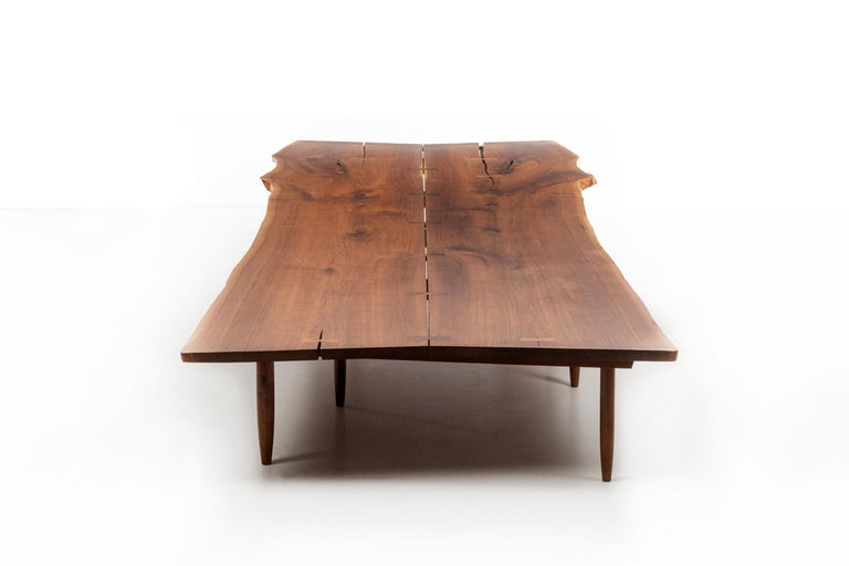 Rosewood Mira Nakashima Monumental Bench For Sale