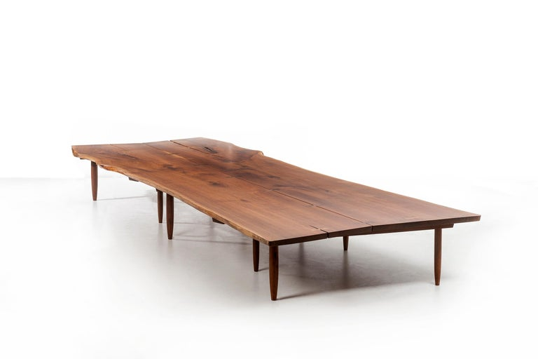 Mira Nakashima Monumental Bench For Sale 1