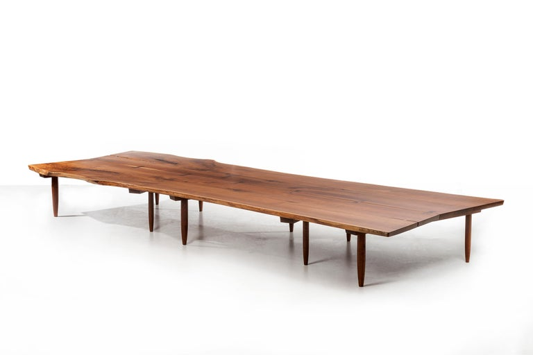 Mira Nakashima Monumental Bench For Sale 2