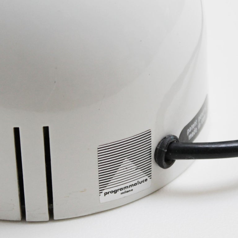 Mira Table Lamp by Mario Arnaboldi for Programmaluce For Sale 3