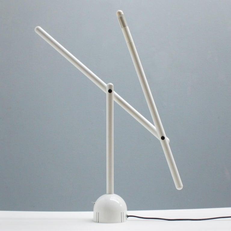 Italian Mira Table Lamp by Mario Arnaboldi for Programmaluce For Sale