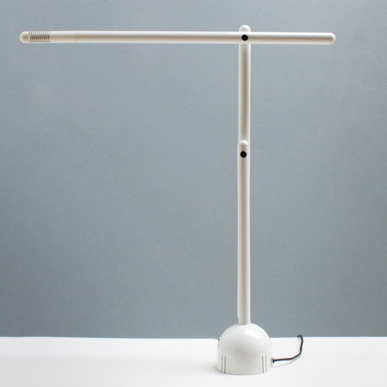 Mira Table Lamp by Mario Arnaboldi for Programmaluce In Good Condition For Sale In JM Haarlem, NL