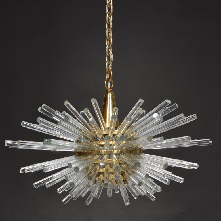 Mid-Century Modern 'Miracle' Chandelier by Bakalowits & Söhne For Sale