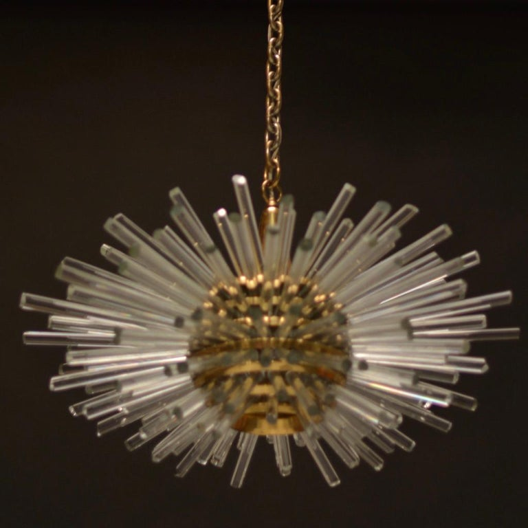 Glass 'Miracle' Chandelier by Bakalowits & Söhne For Sale