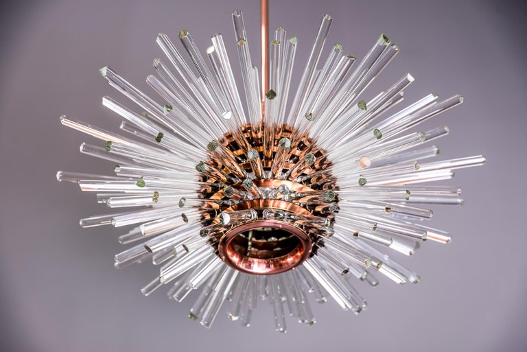 Miracle Sputnik Chandelier Vienna 1960s by Bakalowits For Sale 3