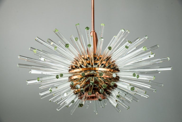 Miracle Sputnik Chandelier Vienna 1960s by Bakalowits For Sale 5