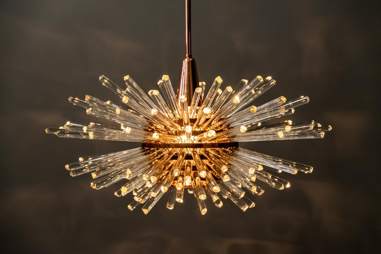 Miracle Sputnik Chandelier Vienna 1960s by Bakalowits For Sale 9