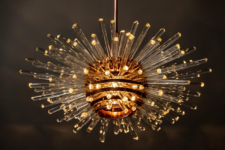 Miracle Sputnik Chandelier Vienna 1960s by Bakalowits For Sale 10