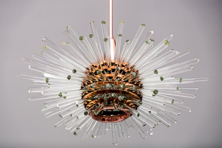 Mid-20th Century Miracle Sputnik Chandelier Vienna 1960s by Bakalowits For Sale