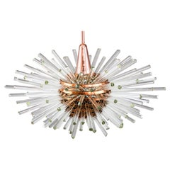 Miracle Sputnik Chandelier Vienna 1960s by Bakalowits