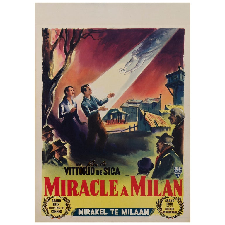 Miracolo a Milano / Miracle in Milan For Sale