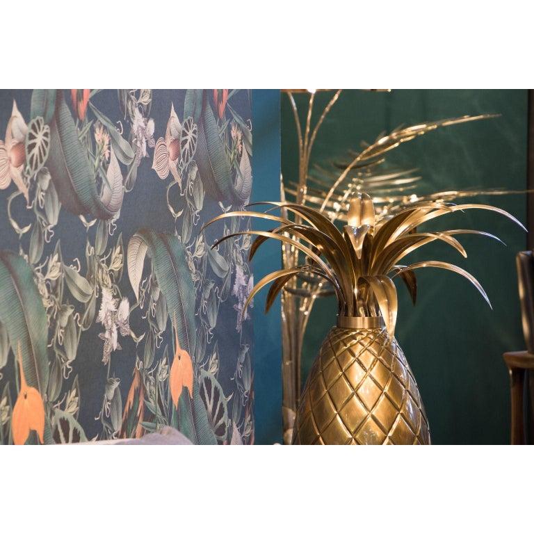 Miranda Pineapple Table Lamp in Brass For Sale 1