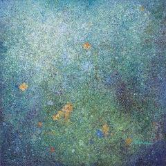 Floating Petals-Soft Blue