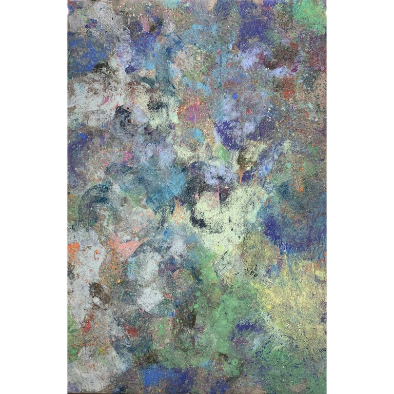 Mirang Wonne Abstract Painting - Forest Mist 7248-1