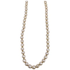 Miriam Haskel Very Fine Faux Pearl Necklace