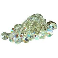 Miriam Haskell Aurora Crystal Cascade Brooch