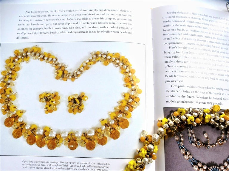 MIRIAM HASKELL necklace bookpiece 1950s For Sale 4