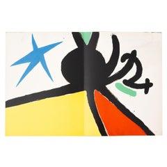 """Miro Artist Book """"Tapis de Tarragona"""" with Ten Lithographs, 1972"""