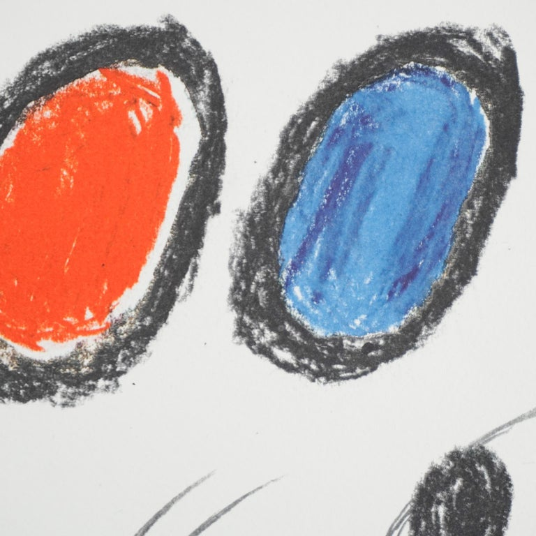 Miró, Limited Edition Photolithography, circa 1970 For Sale 2