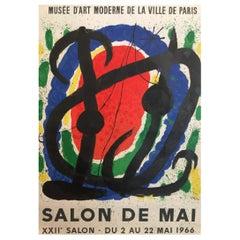 Miro Salon Original Vintage Poster