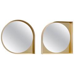 Miroir Almost Round, Almost Square, Architectural Landscape by Hervé Langlais
