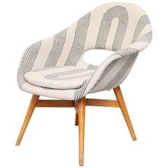 Miroslav Navratil Bucket Chair in Bone White Block Shop