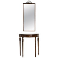Mirror and Console Table by Axel Einar Hjorth