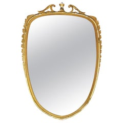 Mirror Attributed to Paolo Buffa, 1950s