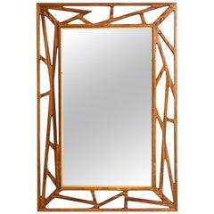 Mirror Attributed to Yngve Ekström Produced by Eden Spegel in Sweden