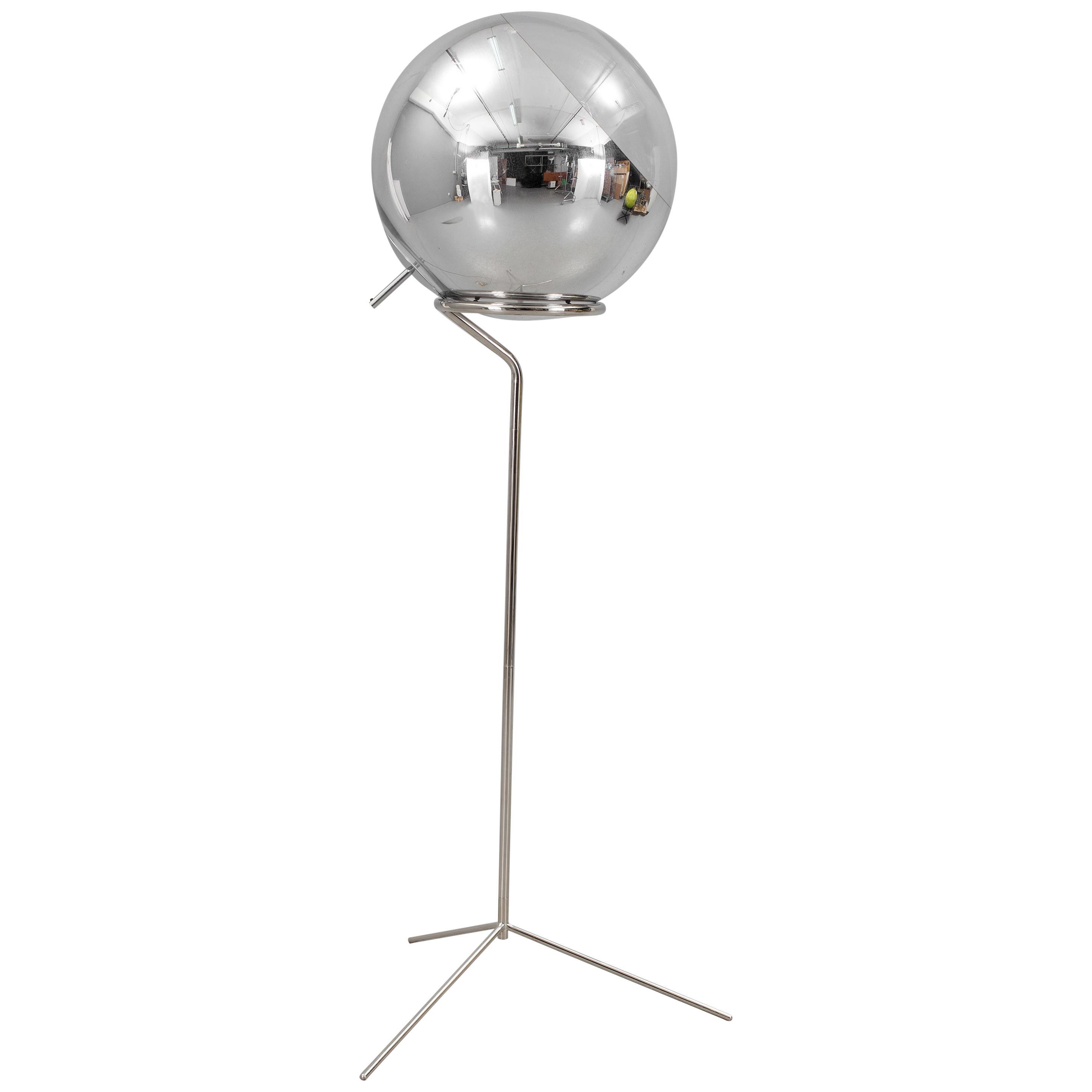 Mirror Ball Floor Light by Tom Dixon
