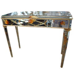"Mirror ""Beechtree"" Design Console Table"