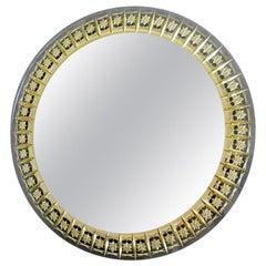 Round Mirror by Cristal Art