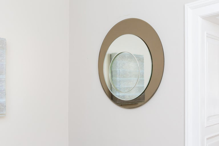 Mirror by Cristal Art, Italy, circa 1960 For Sale 4