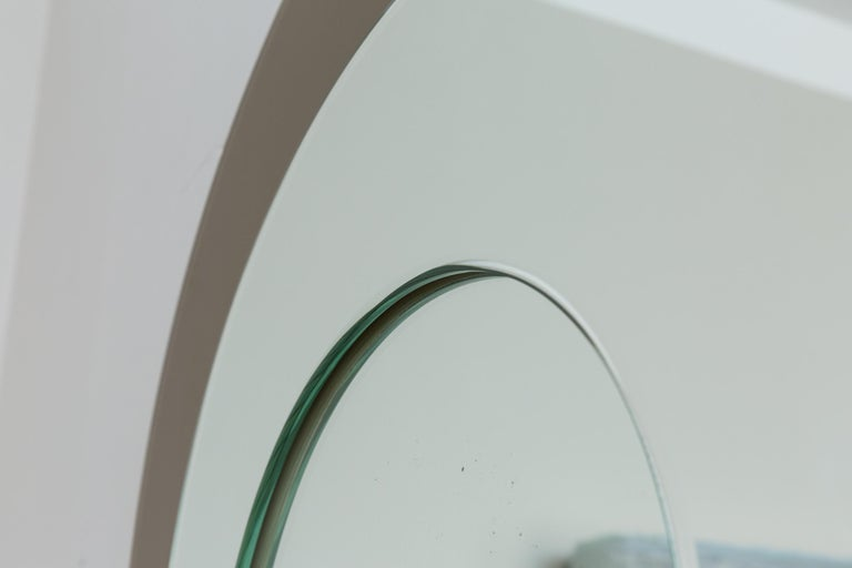 Mirror by Cristal Art, Italy, circa 1960 In Excellent Condition For Sale In Munich, DE