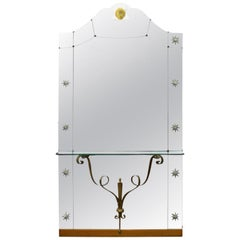 Mid-Century Modern Pier Mirrors and Console Mirrors
