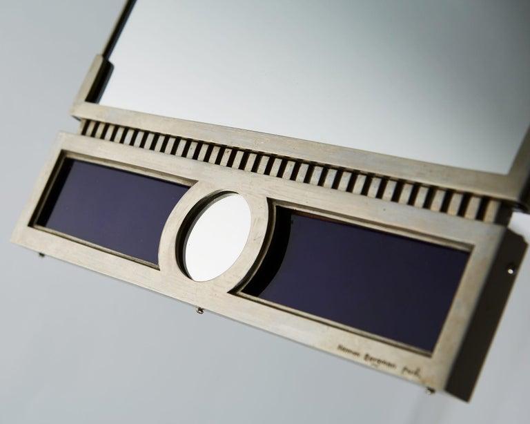 Mid-20th Century Mirror Designed by Herman Bergman, Sweden, 1930s For Sale