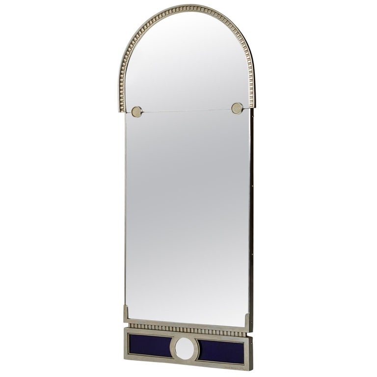 Mirror Designed by Herman Bergman, Sweden, 1930s For Sale