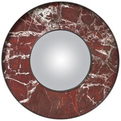 "Mirror ""Eclipse"" Marble by Herve Langlais for Galerie Negropontes"