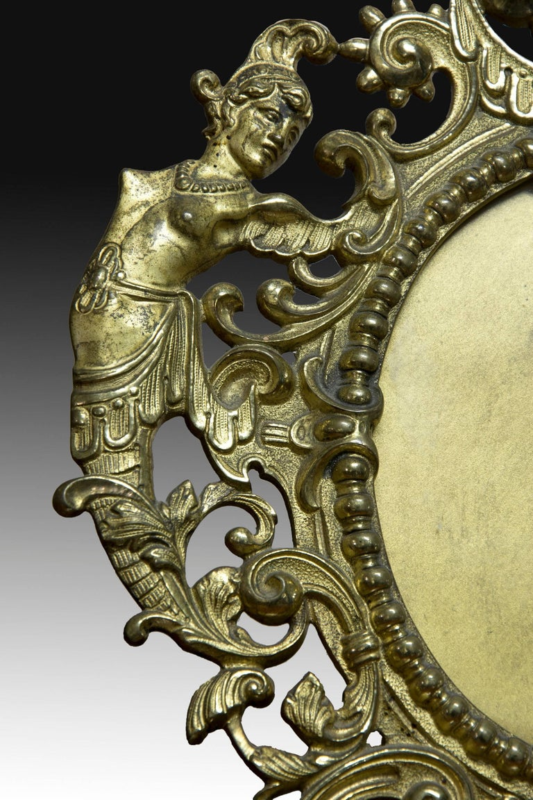 Mirror Frame. Bronze,19th-20th Centuries  In Good Condition For Sale In Madrid, ES