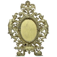 Mirror Frame. Bronze,19th-20th Centuries
