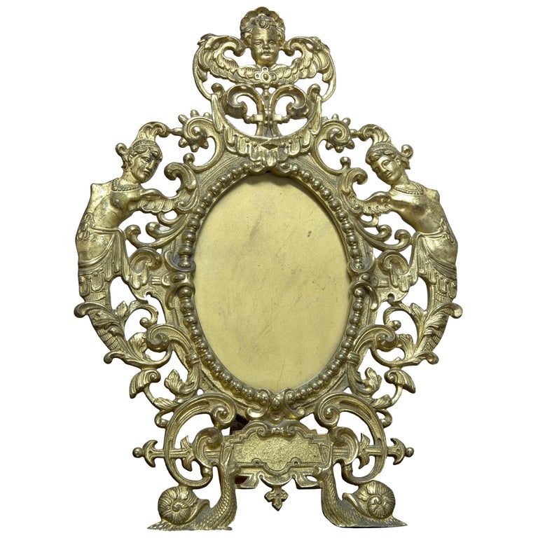 Mirror Frame. Bronze,19th-20th Centuries  For Sale