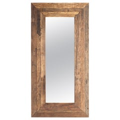 Mirror Frame Made from Reclaimed Elements