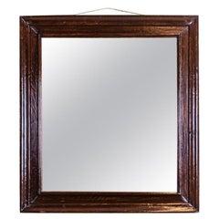 Mirror from the Interwar Period in an Oak Frame