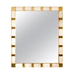 Mirror in Rock Crystal by Studio Glustin