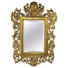 Mirror, Louis XV Style, Gilt Wood