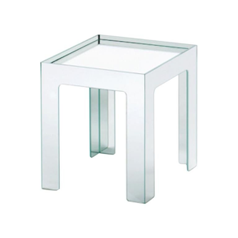 Mirror Mirror Small Low Side Table, by Jasper Morrison for Glas Italia