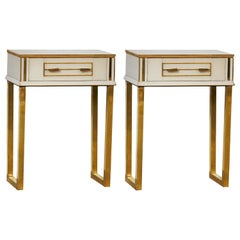 Mirror Nightstands by Studio Glustin