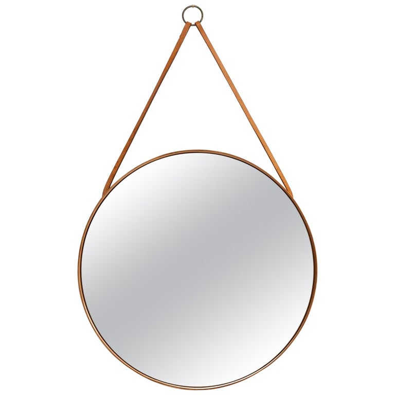Mirror Produced by Glas Mäster in Markaryd, Sweden For Sale