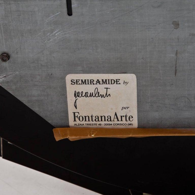 Spiegel Semiramide von Gae Aulenti für Fontana Arte, Italien, Mitte ...
